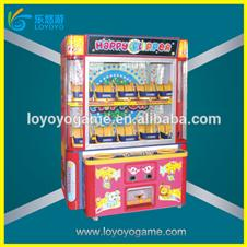 coin operated toy claw double player crane machine gift vending machine
