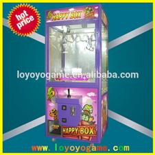 prize claw crane machine Happy Box