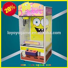 Toy Story Crane Game Machine /Yellow Sponge Baby Toy Crane Machine
