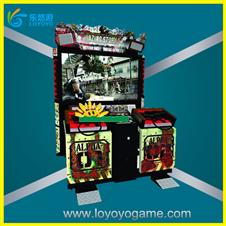 Real vision experience Electronic razing storm shooting game machine