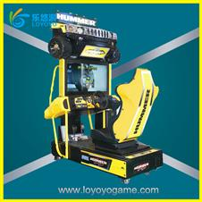 Game machine coin pusher hot sale hummer racing game machine